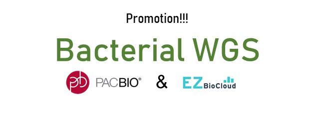 PacBio Bacterial WGS – 15% OFF